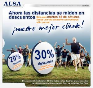 ALSA destinos busplus