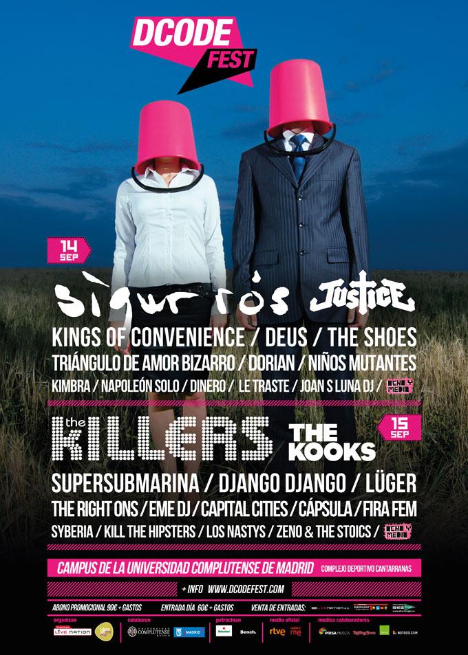 El carte del festival DCODE Fest