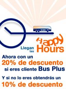ALSA nuevos descuentos happy hours