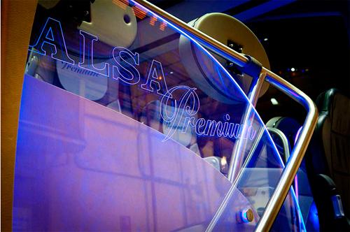 Acceso autobús ALSA Premium