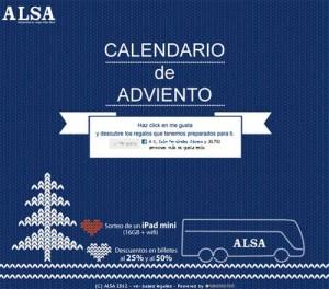 ALSA Creatividad Calendario Adviento ALSA