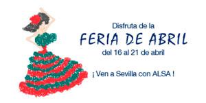 ALSA feria abril ALSA Sevilla