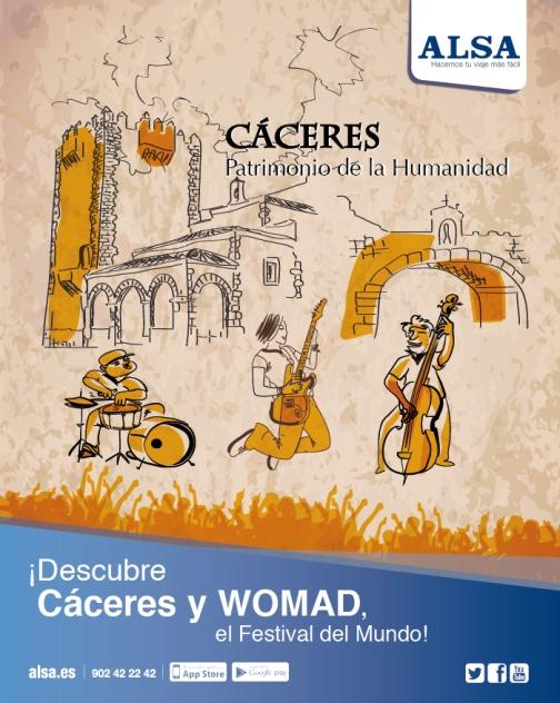 ALSA Festival-WOMAD-Cáceres-ALSA