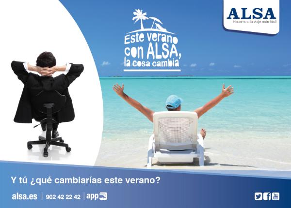 Este verano con ALSA la cosa cambia