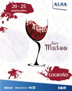 ALSA Fiestas San Mateo_Logroño