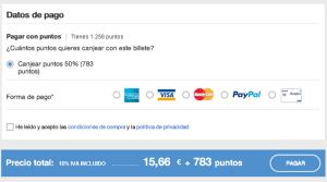 ALSA forma de pago nueva web
