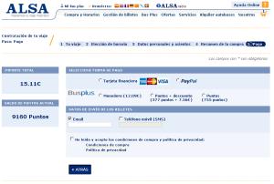 ALSA Madrid-Valladolid ALSA