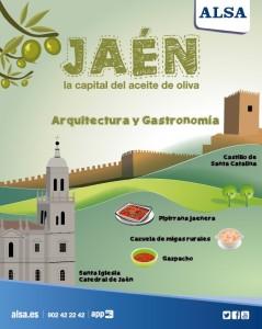 ALSA Jaén, la capital del aceite de oliva