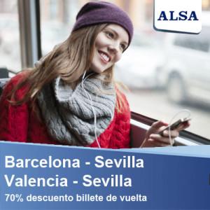 ALSA barcelona sevilla