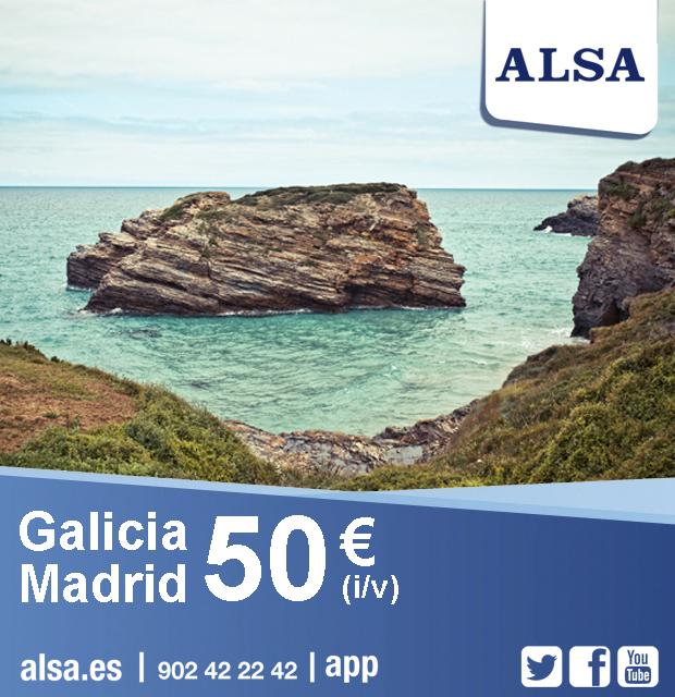 alsa.es | Madrid-Galicia desde solo 55€