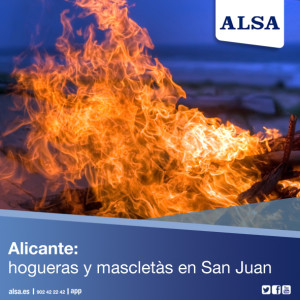 ALSA Alicante San Juan