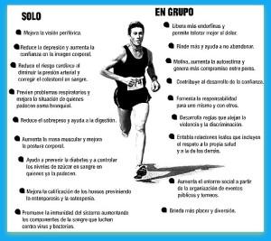 ALSA beneficios de correr