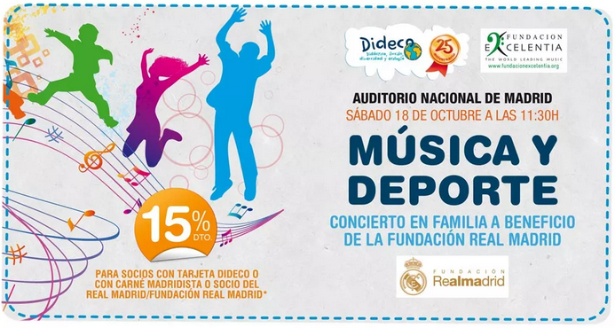 música y deporte