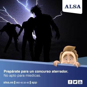 ALSA Halloween concurso