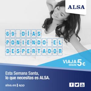 ALSA Semana Santa