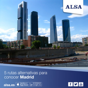 ALSA 5 rutas alternativas Madrid
