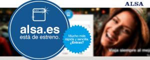 ALSA nueva web www.alsa.es