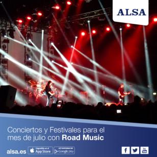 ALSA Conciertos Julio