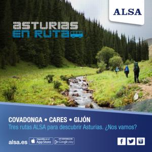 ALSA asturias ruta