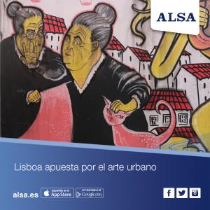 Viaja a lisboa con ALSA ruta graffitis