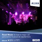 Road music te trae el mejor panorama musical de septiembre