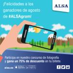 ¡Aquí están los ganadores de #ALSAgram de agosto!