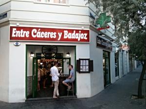 Entre Cáceres y Badajoz