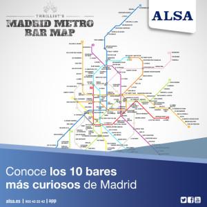 madrid metro bar map