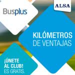 Únete al Club Busplus: ¡kilómetros de ventajas!