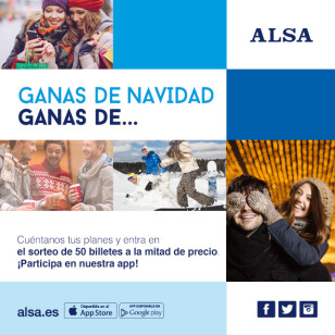 concurso navidad ALSA 2015