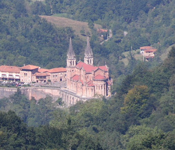 FOTO COVADONGA Basílica