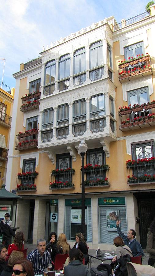 Plaza de las Flores, Murcia. Autor:Gregorico