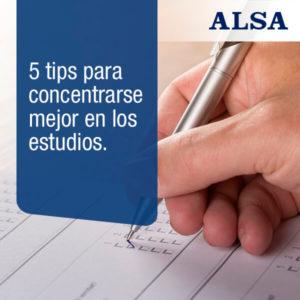tips concentrarse en los estudios