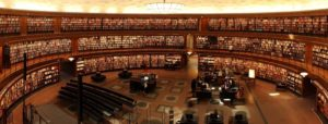 biblioteca estudiar concentrado