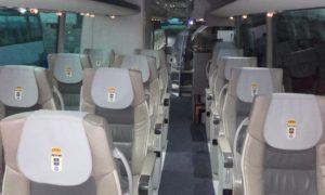 autobus equipo Real Oviedo