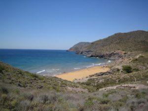 calblanque playa semana santa