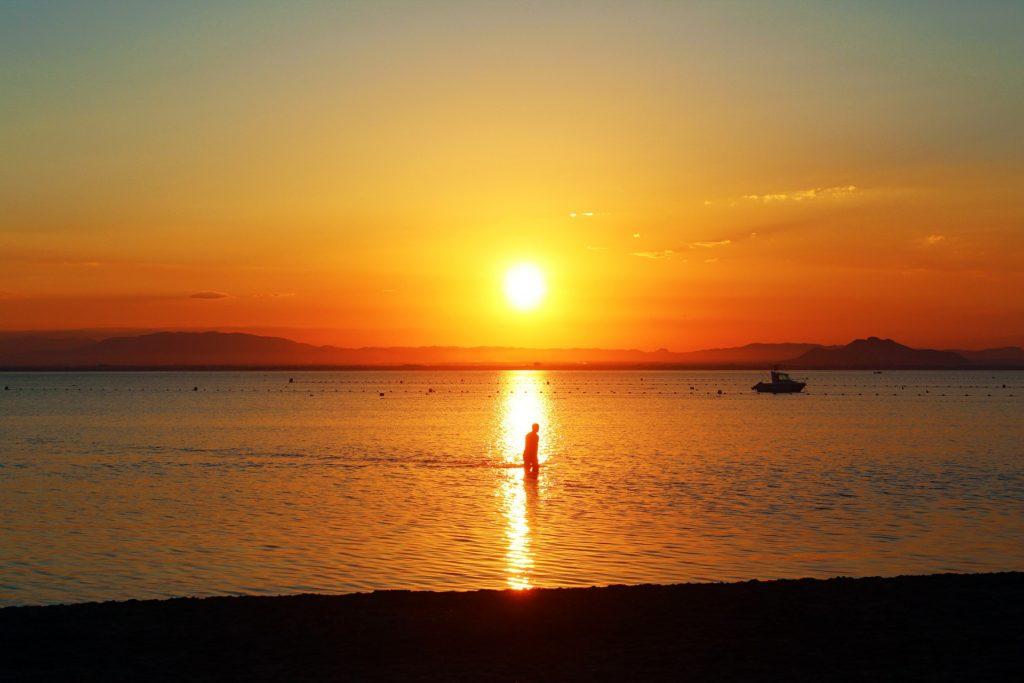 la manga semana santa playa