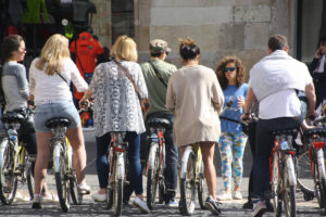 barcelona bici puente mayo