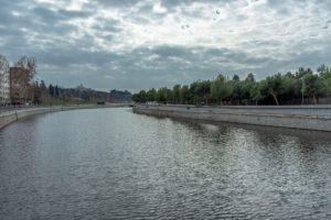 madrid rio patines puente mayo