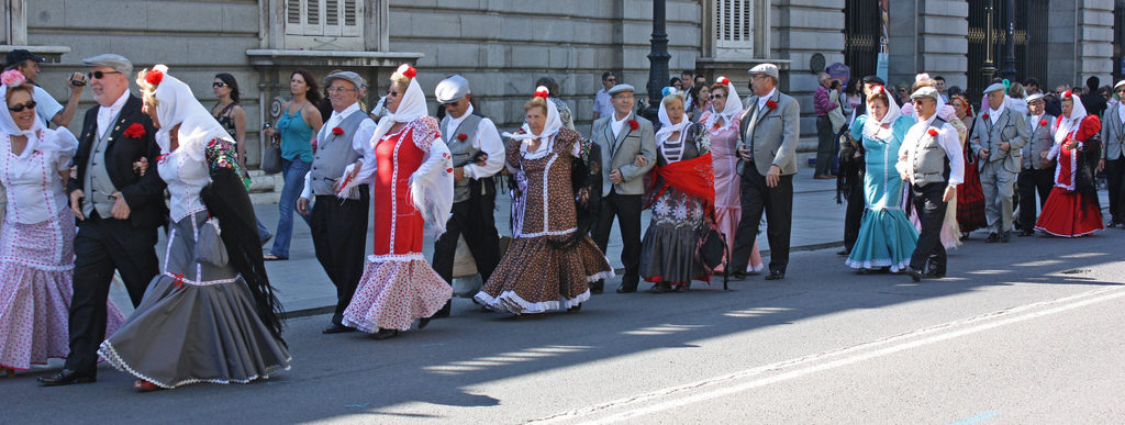 Chulapos y chulapas San Isidro