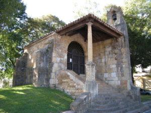 iglesia de la santa cruz. covadonga