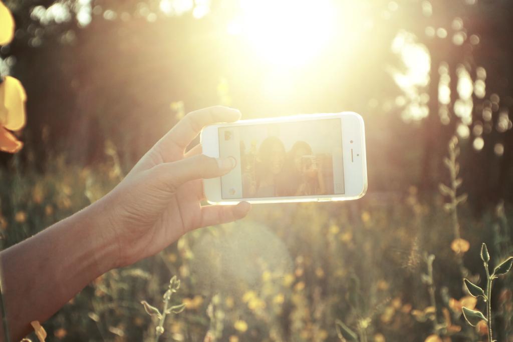 selfie viaje