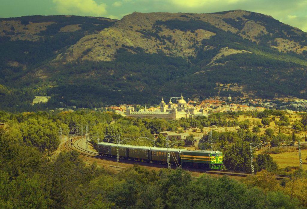 Tren de Felipe II ALSA El Escorial