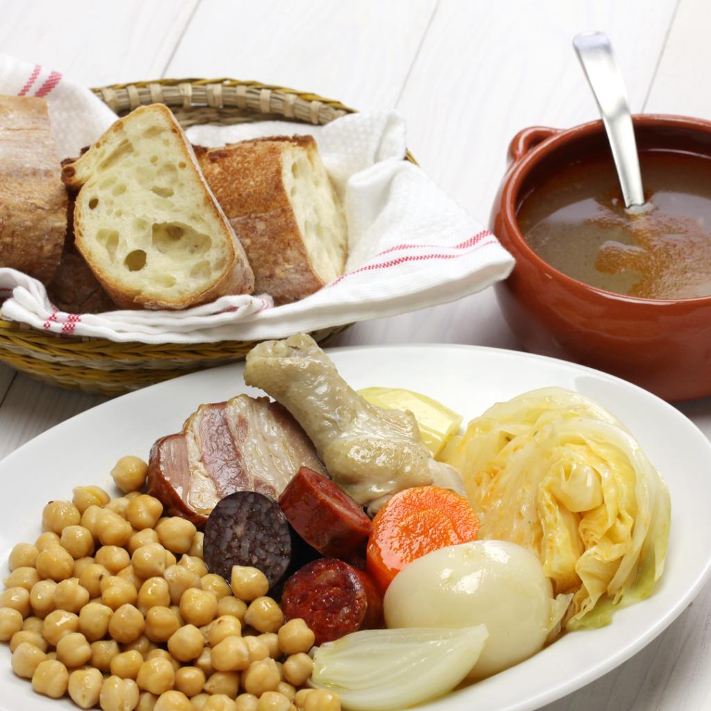 cocido comida abuela
