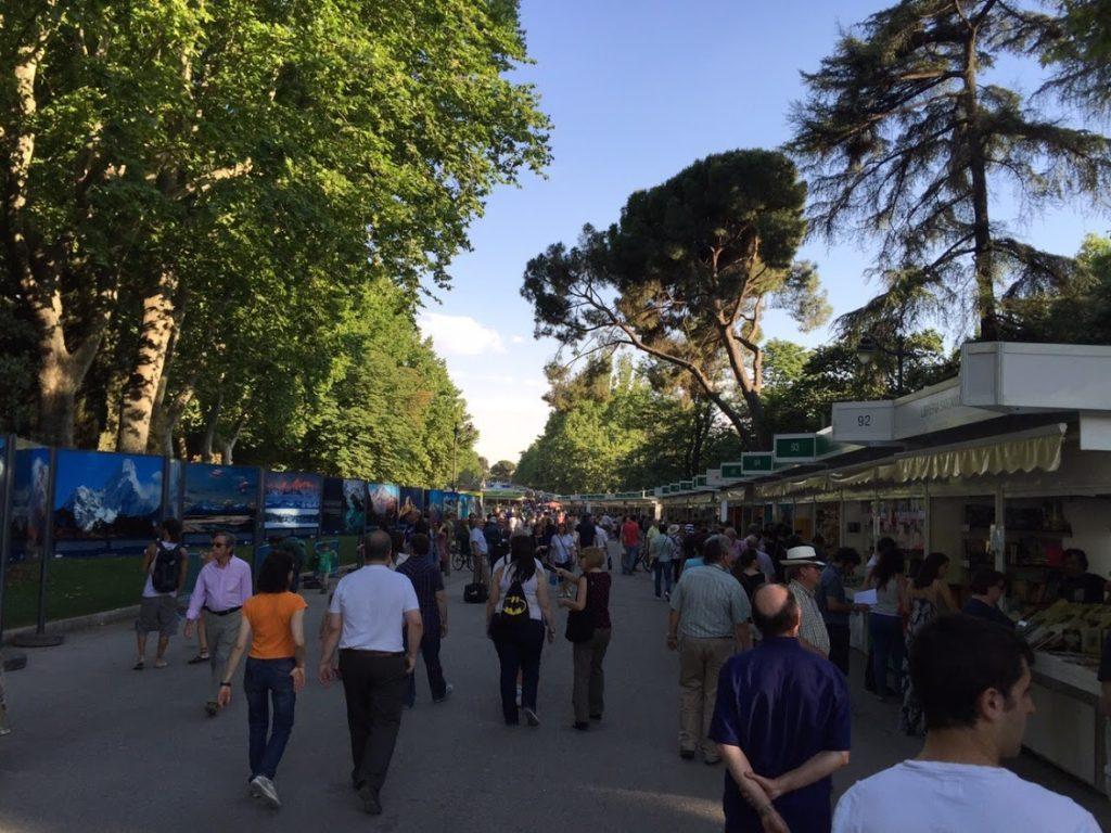 Feria del libro Madrid Retiro
