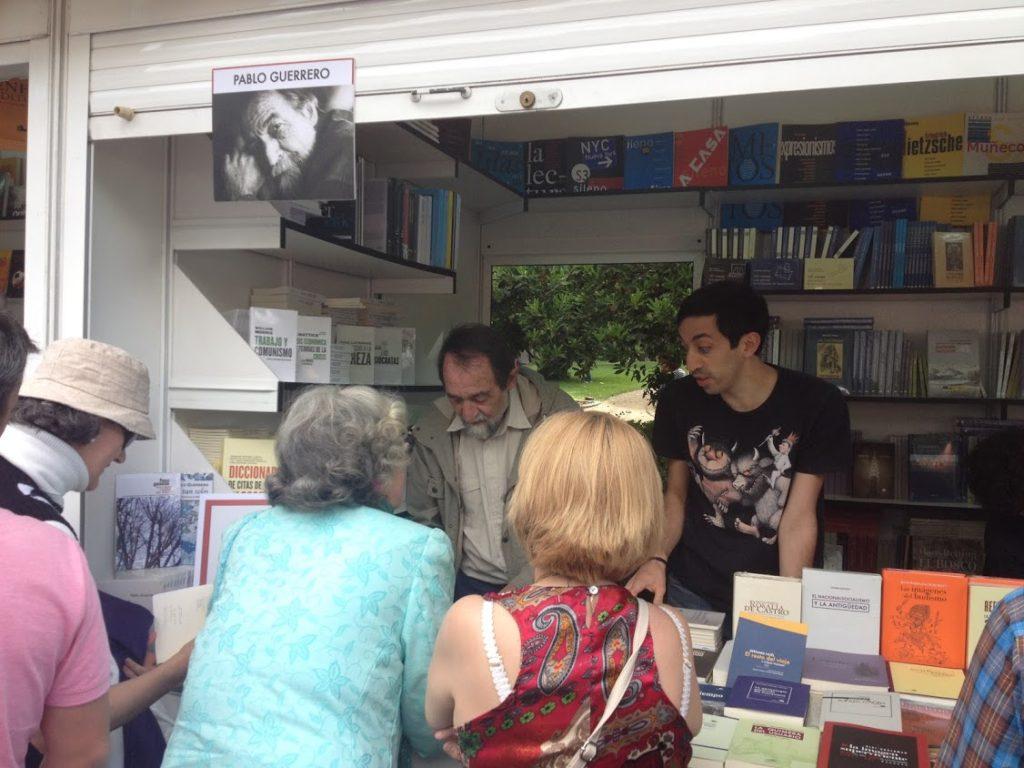 Feria del Libro Madrid Poesia Pablo Guerrero