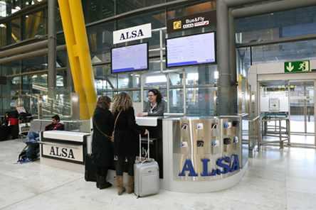 oficina ALSA t4 aeropuerto barajas