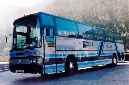 Primeros autobuses clase SUPRA