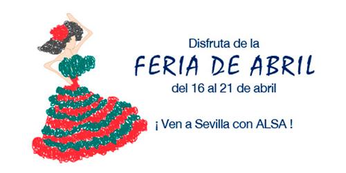 feria abril ALSA Sevilla