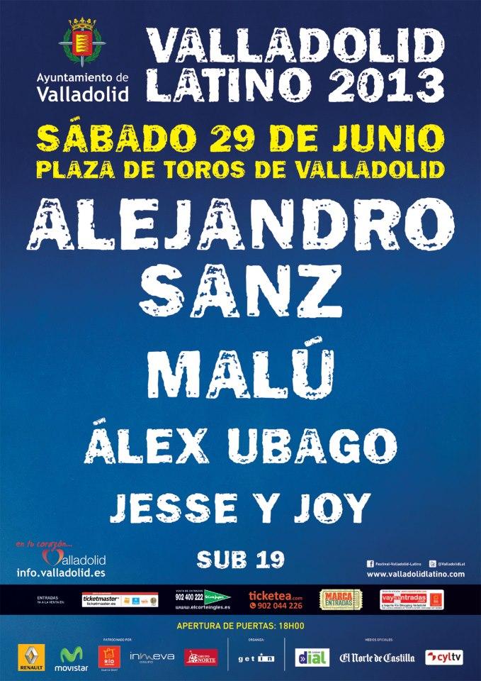 Festival Valladolid Latino 2013